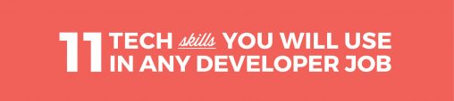 Web Developers Skills